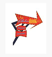 Visit Fabulous Hook Isle Photographic Print