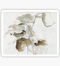 Dried Leaves Sticker