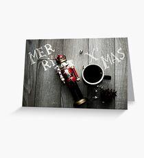 X'mas nutcracker Greeting Card