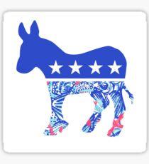 Lilly Democrat  Sticker