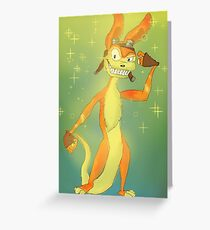 Daxter-tude Greeting Card