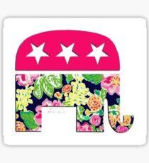 Lilly Republican  Sticker