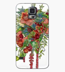 Orchids, Roses & Thistles Case/Skin for Samsung Galaxy