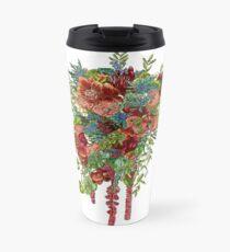 Orchids, Roses & Thistles Travel Mug