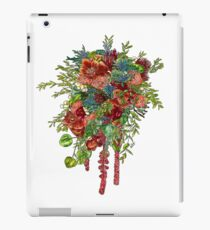 Orchids, Roses & Thistles iPad Case/Skin