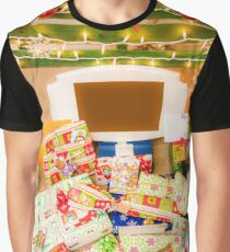 Christmas presents under an ecological, reusable Christmas tree  Graphic T-Shirt