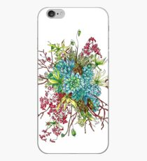 Succulents & Orchids iPhone Case