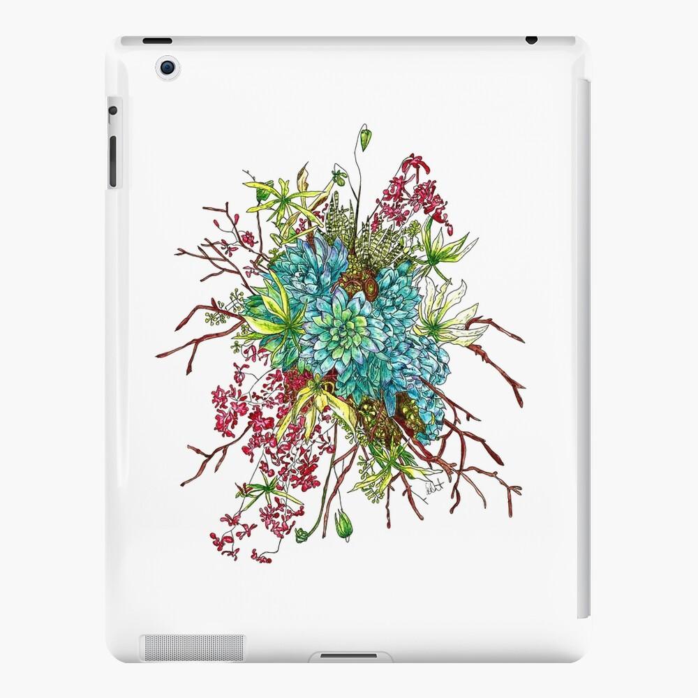 Succulents & Orchids iPad Case & Skin