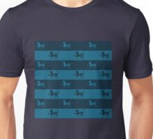 The Roaring Lion in Navy Unisex T-Shirt