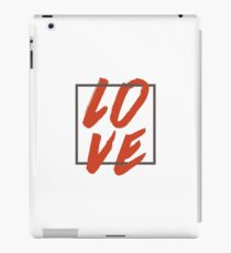 Love Brush Hand Lettering iPad Case/Skin