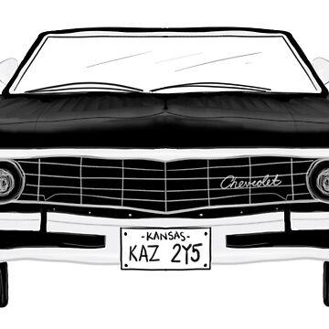 1967 Chevy Impala by ksshartel