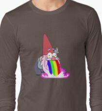 Gravity Falls- Barfing Gnome Long Sleeve T-Shirt