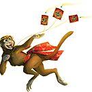 Lunar New Year 2016 - Year of the Monkey by aunumwolf42