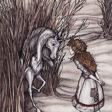Molly y el unicornio de jessicagadra