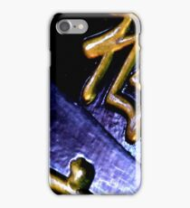 Chinese Characters Abstract iPhone Case/Skin