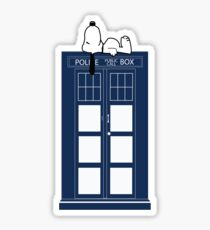 Snoopy / Dr. Who Sticker
