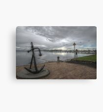 Anchorage in Geelong Canvas Print