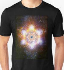 """Aad Guray Nameh""- Merkaba-  Protective energy of the Universe Unisex T-Shirt"