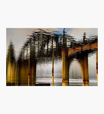 Reflecting the Bridge Photographic Print