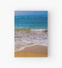 Surf, Sand, Beach Hardcover Journal
