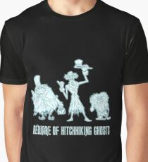Haunted Mansion Beware of Hitchhiking Ghosts Graphic T-Shirt