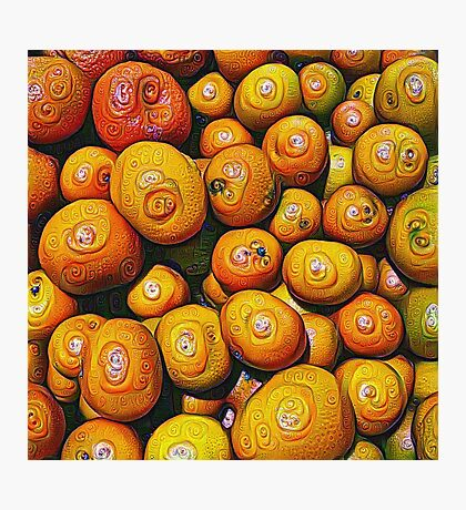 #DeepDream Fruits 5x5K v1454417933 Photographic Print