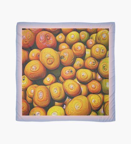 #DeepDream Fruits 5x5K v1454417933 Scarf