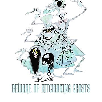 Awesome Art Hitchhiking Hosts from the Haunted Mansion by jacobzking