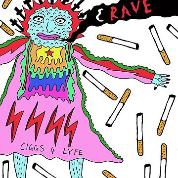 'Crave' design by LUCILLE by LUCILLEART