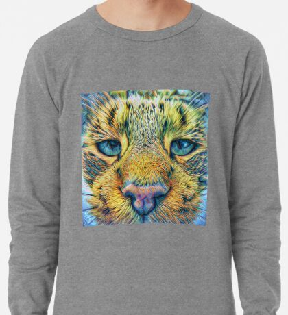 #DeepDreamed Cat v1449127170 Lightweight Sweatshirt