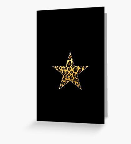 Wild Star  Greeting Card