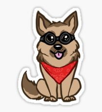 Dogmeat Sticker Sticker