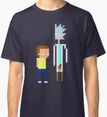 Rick and Morty Pixels  Classic T-Shirt