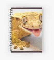 MALE CRESTED GECKO Spiral Notebook