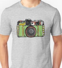 Vintage film camera big Unisex T-Shirt