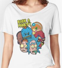 Rick and Morty Universe  Women's Relaxed Fit T-Shirt