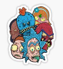 Rick nd Morty Sticker