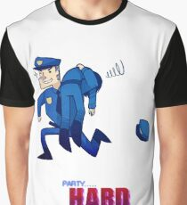 Party Hard - All the cops Graphic T-Shirt