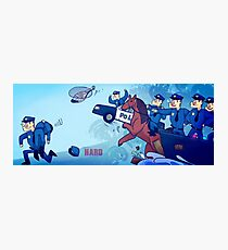 Party Hard - All the cops Photographic Print