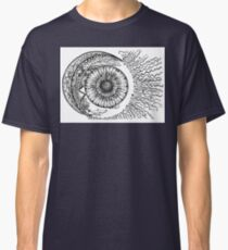 Sun, Moon and Stars, Ink Drawing Classic T-Shirt