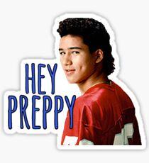 Hey Preppy Sticker