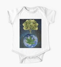 space weed tree One Piece - Short Sleeve