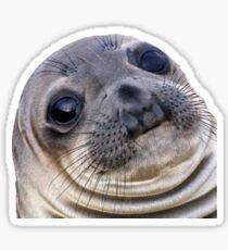 Wut Seal - Sticker Print Sticker