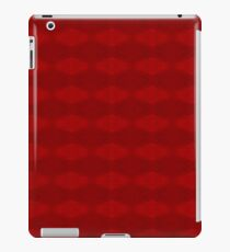 Climbing Red Roses Abstract iPad Case/Skin
