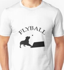 Flyball dog at the box T-Shirt