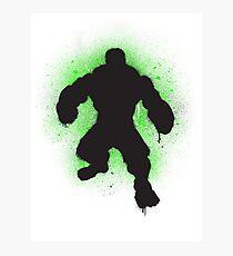 Hulk SMASH Banksy! Photographic Print
