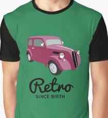 Retro Car Graphic T-Shirt