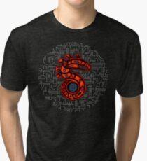 Shadowrun S - Old School Circuit Board Tri-blend T-Shirt
