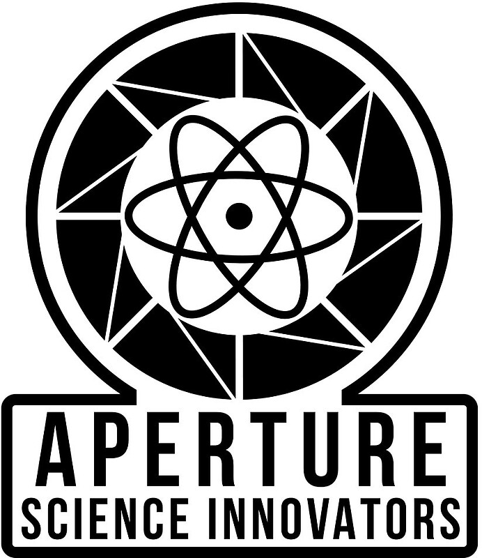 quotAperture Science quot Stickers by CyanidePie RedbubbleAperture Science Innovators