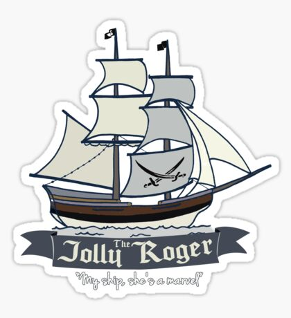 The Jolly Roger Sticker